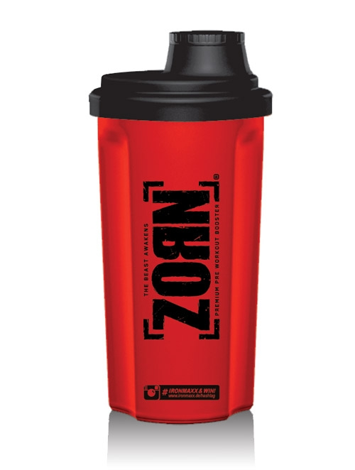 Shaker Red-black 700ml